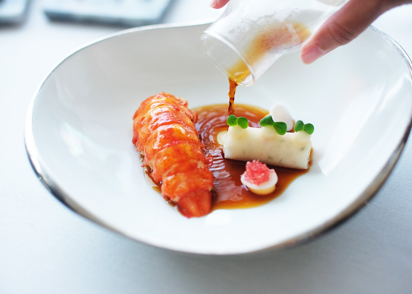 """Michelin Restaurant Singapore """"Saint Pierre"""": Come for the Food, Not the View"""